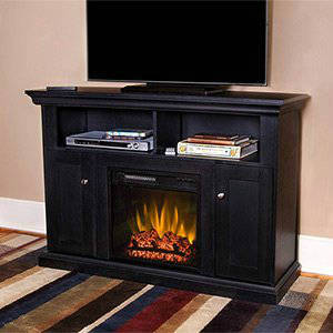 ChimneyFree Camden 18inch Electric Center in Black - 18MM4499-PB84
