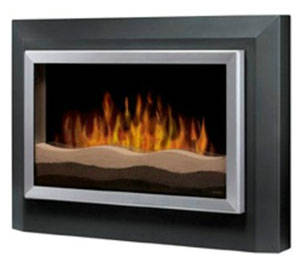 Dimplex RWF-DG Sahara Electric Wall Mounted Stove, Dark Grey