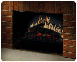Dimplex DFI2309 Black Electric Fireplace Insert