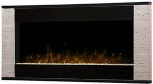 Dimplex DWF120 Contemporary Wall Mountable Electric Fireplace