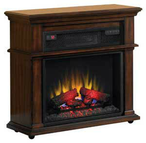 If you enjoy the ambiance and warmth of a fireplace