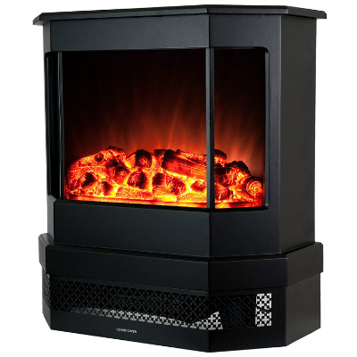 Golden Vantage European Style Freestand Portable Electric Fireplace Heater Stove