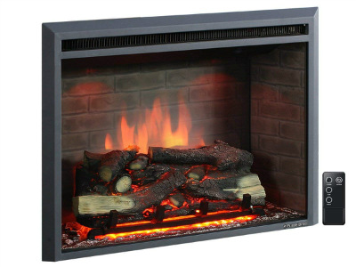 PuraFlame Western Electric Fireplace Insert with Remote Control